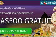 Casino Mummys Gold, encore un site qualitatif de machines à sous Microgaming.