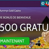 Casino Mummys Gold, encore un site qualitatif de machines à sous Microgaming.