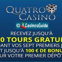 Casino Quatro, le site de machines à sous favori des joueurs.