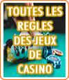 Jeux de casinos, toutes les règles à savoir sur le blackjack, le poker, les slots, le baccarat, etc.